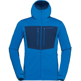 Norrøna Lyngen Powerstretch Pro Zip Hoodie Men Hot Sapphire